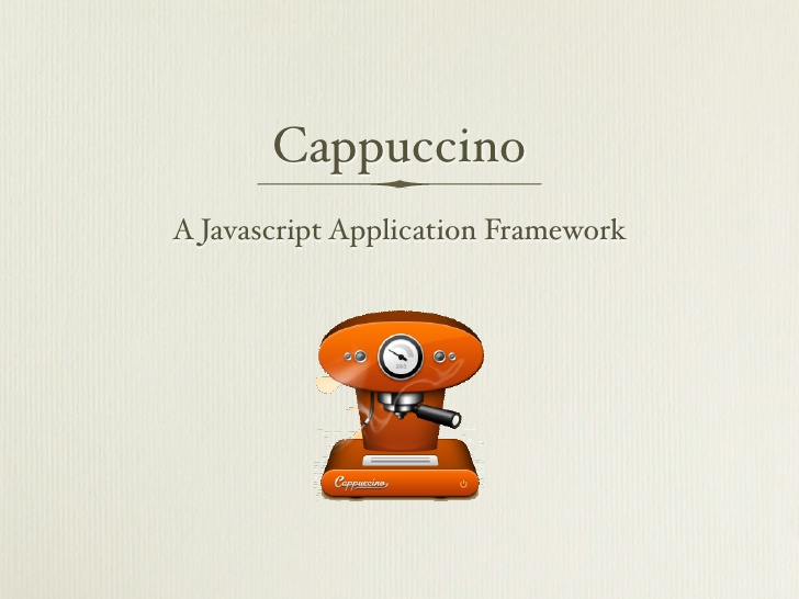 http://cappuccino.org/